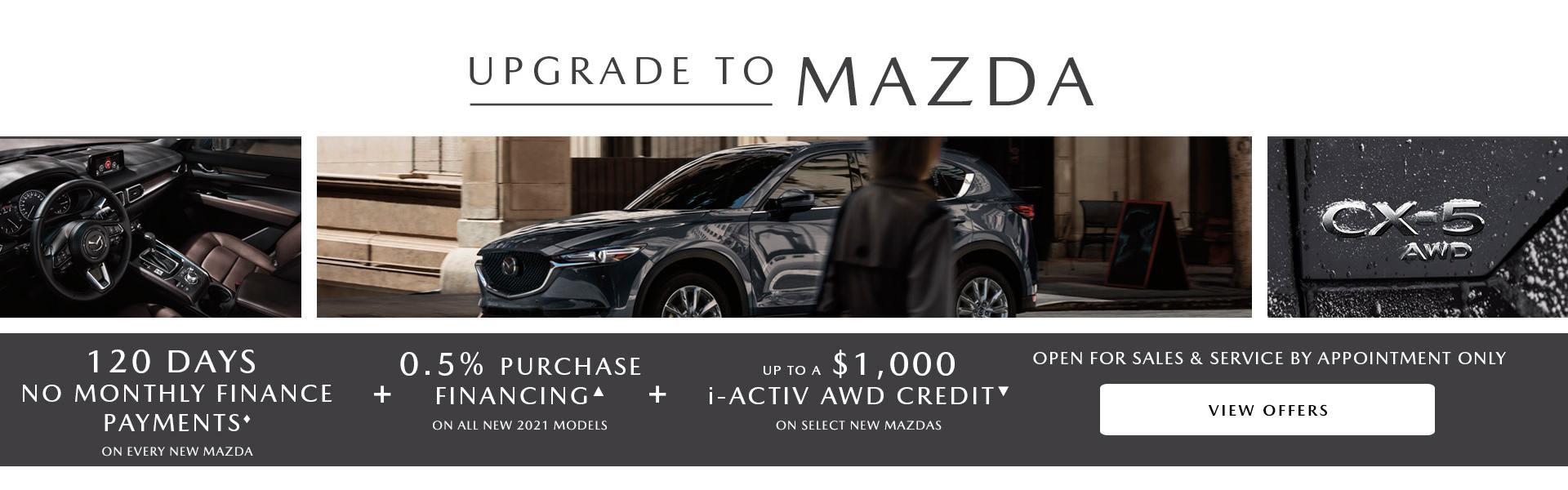 Upgrade To Mazda